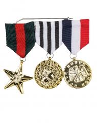 3 Médailles de l