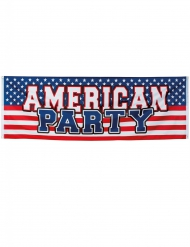 Bannière American Party 220 X 74 cm