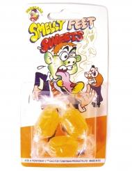 3 Bonbons humoristique goût pieds