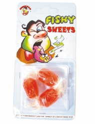 3 Bonbons humoristique goût poisson