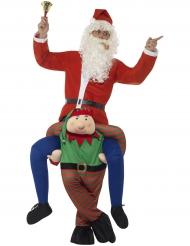 Déguisement homme à dos de lutin adulte Noël