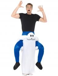 Déguisement homme à dos de fantôme adulte Halloween