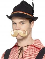 Chapeau bavarois noir contour allemand adulte