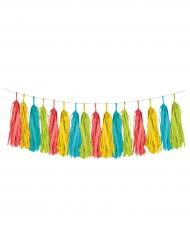 Guirlande tassel multicolore Fiesta 20,3cm x 2,5m