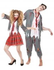 Déguisement de couple Zombie Halloween