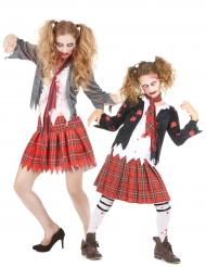 Déguisement écolière Zombie Mère/Fille Halloween