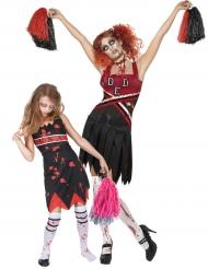 Déuisement pompom girls zombie Mère/Fille Halloween