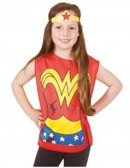 T-shirt imprimé et tiare Wonder Woman ™ enfant