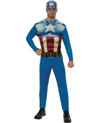 Déguisement entrée de gamme Captain America™ adulte