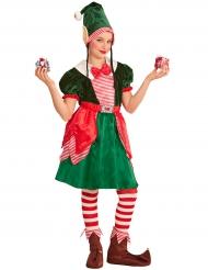 Déguisement assistante lutin fille Noël