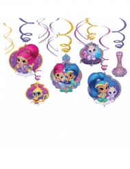6 Décorations à suspendre Shimmer & Shine ™