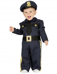 Déguisement policier marine bébé