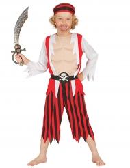 Déguisement pirate musclé garçon