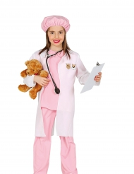 Déguisement vétérinaire rose fille