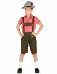 Déguisement bavarois garçon