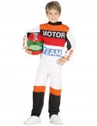 Déguisement pilote de moto enfant