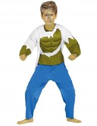 Déguisement musclor vert garçon