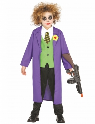 Déguisement clown joker fou enfant