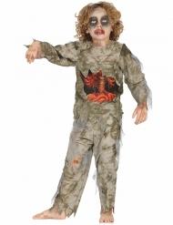 Déguisement zombie momifié garçon Halloween