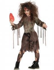Déguisement zombie momifié fille Halloween