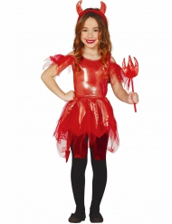 Déguisement shiny diablesse fille Halloween