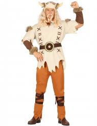 Déguisement viking beige homme