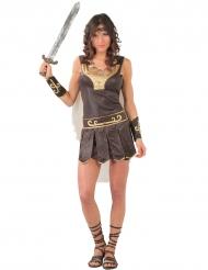Déguisement guerrière romaine femme