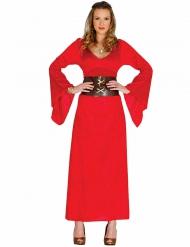 Déguisement reine rouge femme