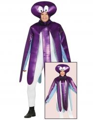 Déguisement poulpe violet adulte