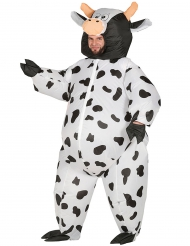 Déguisement maxi vache gonflable adulte