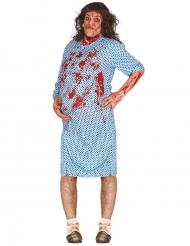 Déguisement zombie enceinte adulte Halloween