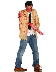 Déguisement zombie amputé homme Halloween