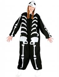 Déguisement combinaison squelette adulte Halloween