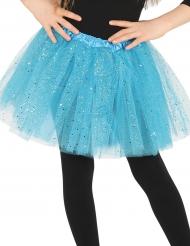 Tutu bleu à paillettes fille