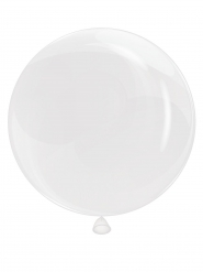 Ballon bulle transparent 65 cm
