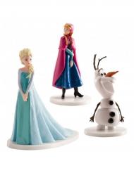 Figurines Elsa, Anna et Olaf - La Reine des Neiges ™ 7,5 cm