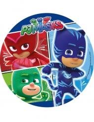 Disque en sucre Pyjamasques™ 21 cm aléatoire