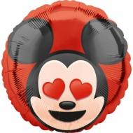 Ballon aluminiumMickey Mouse ™ Emoji ™ 43 cm