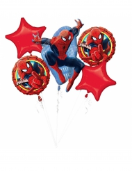 Bouquet de 5 ballons aluminium Spiderman Ultimate ™