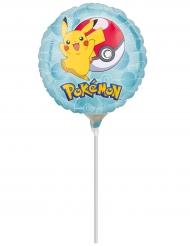 Petit ballon aluminium sur tige Pokémon™ 23 cm