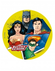 Disque en sucre Justice League ™ 16 cm