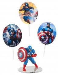 Kit de décorations gâteaux Captain America™