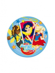 Disque en azyme DC Super Hero Girls™ 20 cm