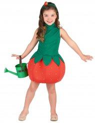 Déguisement robe fraise fille