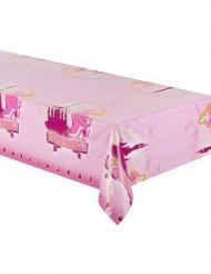 Nappe en plastique Princesse 130 x 180 cm