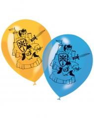 6 Ballons imprimés Chevalier