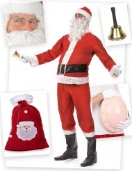 Pack déguisement Père Noël standard