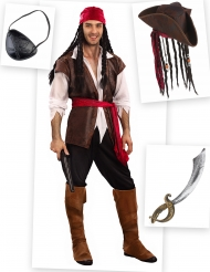 Pack déguisement pirate homme