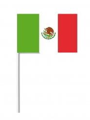 Drapeau papier Mexique 14x21 cm
