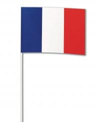 Drapeau papier France 14 x 21 cm